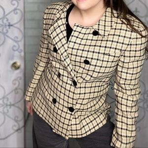 VTG Dior Double Breasted Blazer/Suit Jacket-1980's